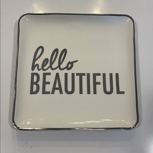 Other - Hello Beautiful Makeup/Jewelry Tray